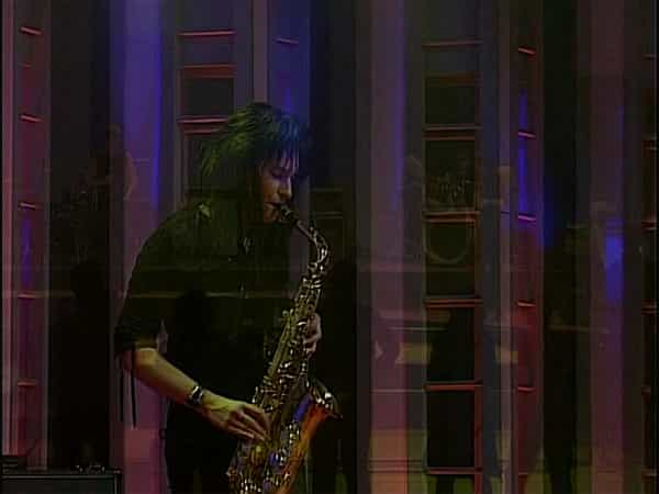 Die Partyband mit Saxophon
